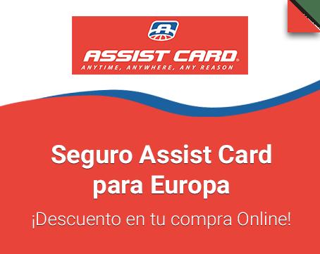 Seguro Assist Card para Europa.