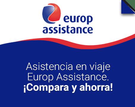 Asistencia en viaje Europ Assistance.